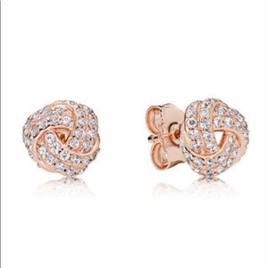 PANDORA Rose gold stud earrings